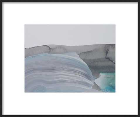 Wash Over - 14'' x 11'' - with matte - Artfully Walls