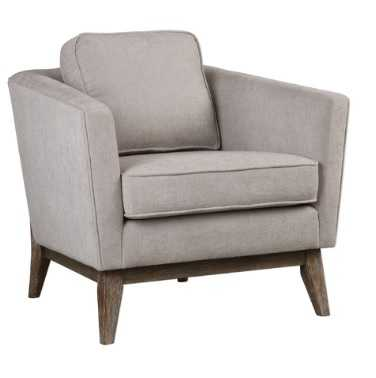 VARLEY ACCENT CHAIR, TAUPE - Lulu and Georgia
