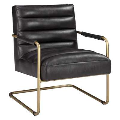 Hackley Accent Chair Black - Signature Design by Ashley - Target