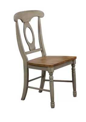 Calila Solid Wood Dining Chair (set of 2) - Wayfair