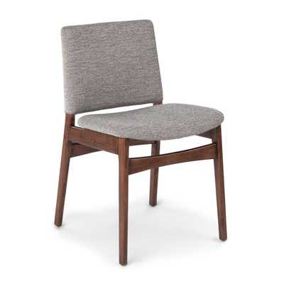 Nosh Quarry Gray Walnut Dining Chair, ( pair ) - Article