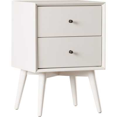Parocela 2 Drawer Nightstand - White - Wayfair