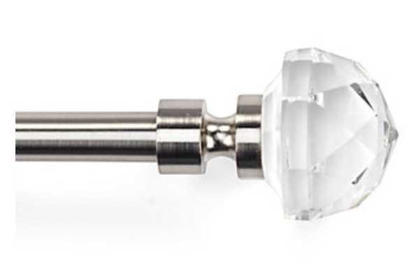 Asteria Glass Drapery Rod - Z Gallerie