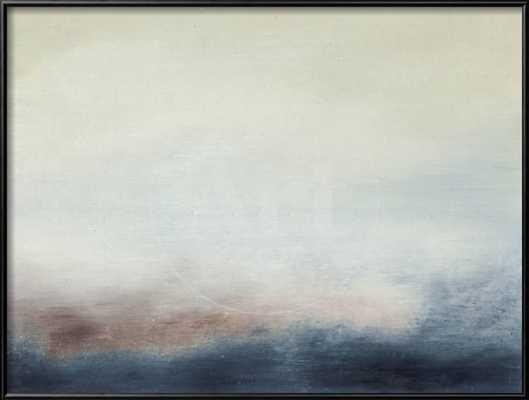 "Water V -32"" x 24"" - Mounted Premium Giclee Print - art.com"