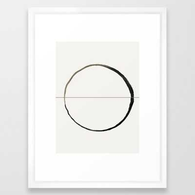 "C7 Framed Art - 20x26"" - Scoop White Frame - Society6"