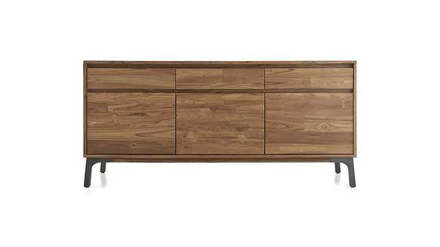 Lakin Recycled Teak Sideboard - Crate and Barrel