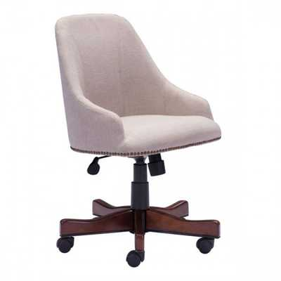 Maximus Office Chair Beige - Zuri Studios