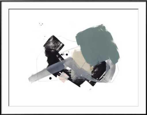 """STUDY 18 By Jaime Derringer - Frames Art Print 40""""x30"""" - RONDA Black Frame - art.com"""