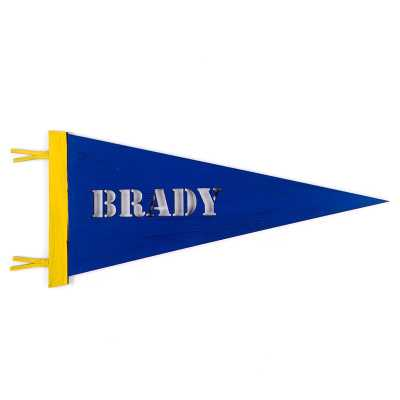 Personalized Pennant Wall Decor - Wayfair
