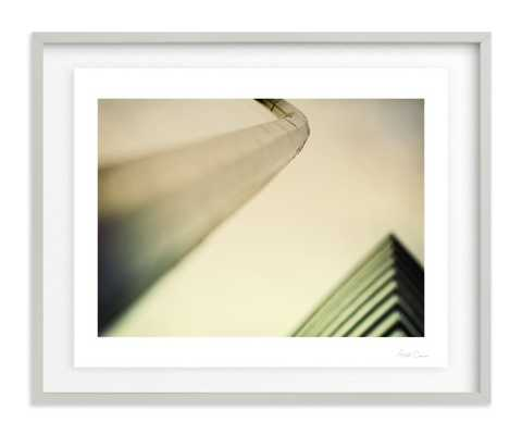 modern architecture - Float Mounted W/ Artist Signature - Minted