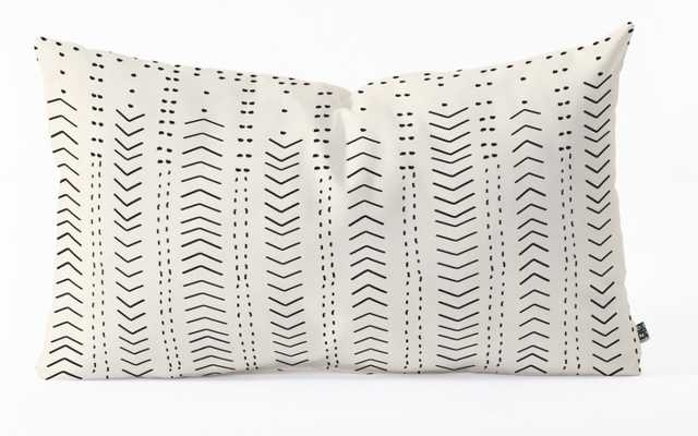 Iveta Abolina Mud Cloth Inspo VIII Throw Pillow WITH INSERT - Wander Print Co.