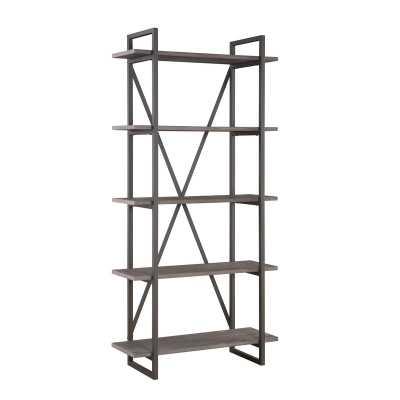 Thole Metal Etagere Bookcase - Wayfair