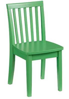 Carolina Play Chair, Kelly Green - Pottery Barn