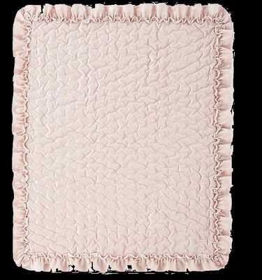 Levtex Baby® Heritage Velvet Quilt in Blush - Bed Bath & Beyond