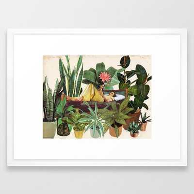TERRARIUM Framed Art Print - Society6