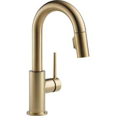 Trinsic Pull Down Single Handle Kitchen Faucet with MagnaTite® Docking and Diamond Seal Technology - Wayfair