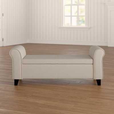 Varian Upholstered Storage Bench - Wayfair