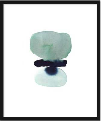 zen stack by Kelly Witmer - Artfully Walls