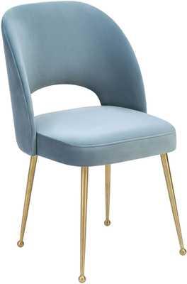 Alani Sea Anna Velvet Chair - Maren Home
