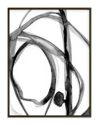 Plant Cell 2 40 x 30 black wood frame - Minted