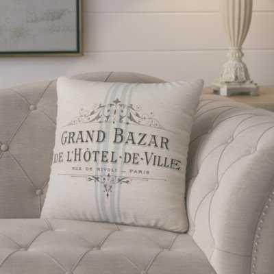 Mandragore French Throw Pillow - Birch Lane