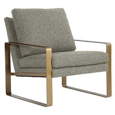Kane Accent Chair - Bermuda Metal - Z Gallerie