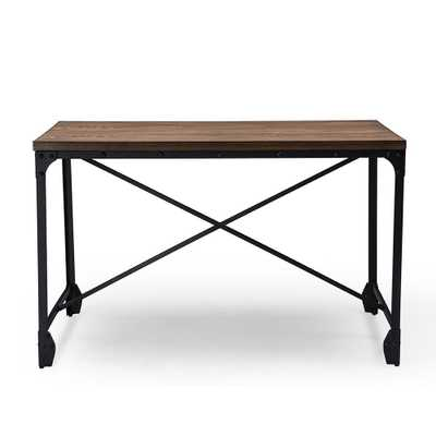 GREYSON VINTAGE INDUSTRIAL HOME OFFICE DESK - Lark Interiors