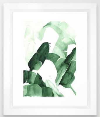 Beverly I Art Print -10x12 Vector White Frame - Society6