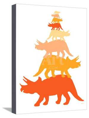"Orange Tritop Canvas, 12""x16"" - art.com"