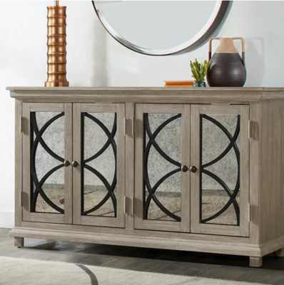 Millbank Four Door Mirror Front Sideboard - Wayfair