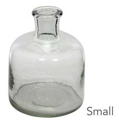 Glass Bottle - Small - Pine Cone Hill