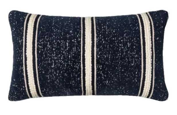 Woven Stripe Oversized Lumbar Throw Pillow - Threshold™ - Target