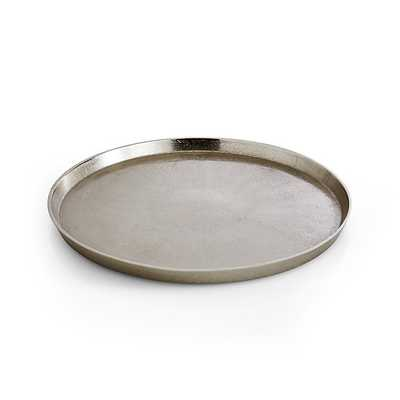Element Metal Silver Tray - Crate and Barrel