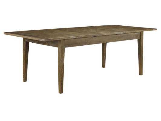 Plaisance Extendable Dining Table - Antique Iron - Wayfair