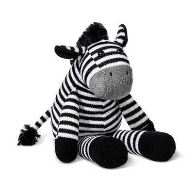 Plush Zebra - Cloud Island™ Black/White - Target