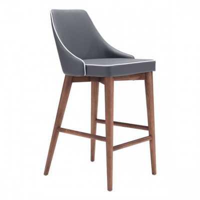 Moor Counter Chair Dark Gray - Zuri Studios