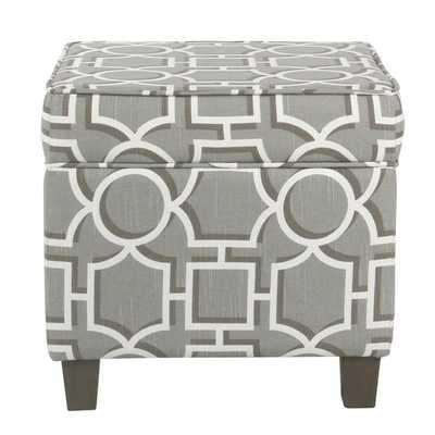 Laura Storage Ottoman - Wayfair