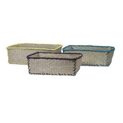 Koko Storage Baskets - Set of 3 - Mercer Collection