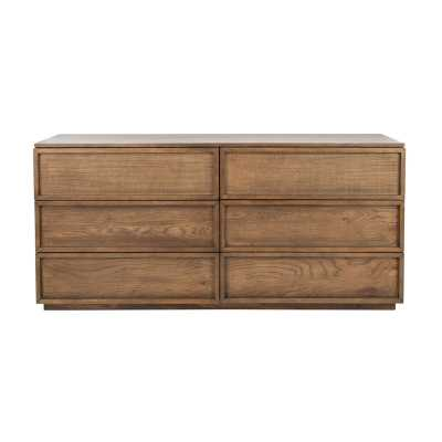 Zeus 6 Drawer Double Dresser - Perigold