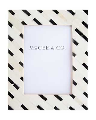 "DIAGONAL TILE FRAME - 5"" x 7"" - McGee & Co."