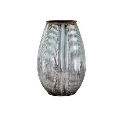 Robinson Small Metal Vase - Mercer Collection