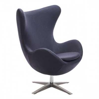 Skien Arm Chair Iron Gray - Zuri Studios