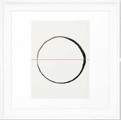 """C7 Framed Art - 12 X12"""" - Scoop White - Society6"""