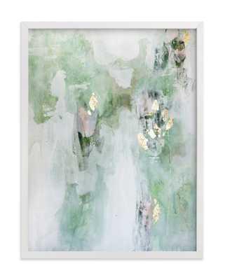 Leaf It Alone- 18x24, white wood frame - Minted