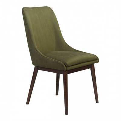 Ashmore Dining Chair Emerald Green, Set of 2 - Zuri Studios