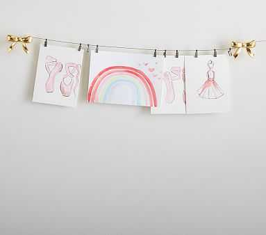 Bow Art Cables - Pottery Barn Kids