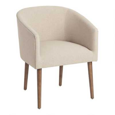 Callie Upholstered Tub Chair - World Market/Cost Plus