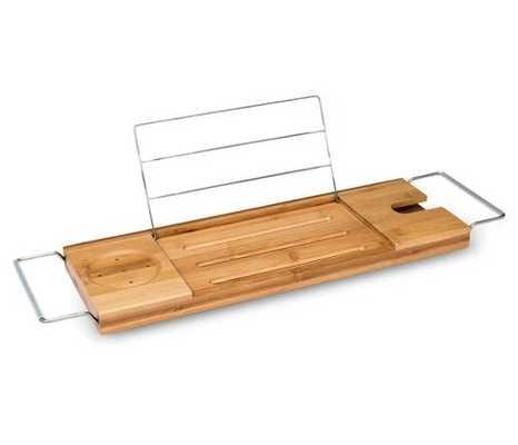Bamboo Bathtub Caddy Natural - Threshold - Target