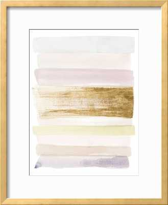 Pastel Sweep II - Ramino Gold Thin Frame - art.com
