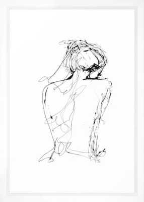 Virginia Framed Art Print by Elodie Bachelier - Society6